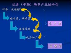 远景(中韩)海参产业链数字化创新平台建设的意义